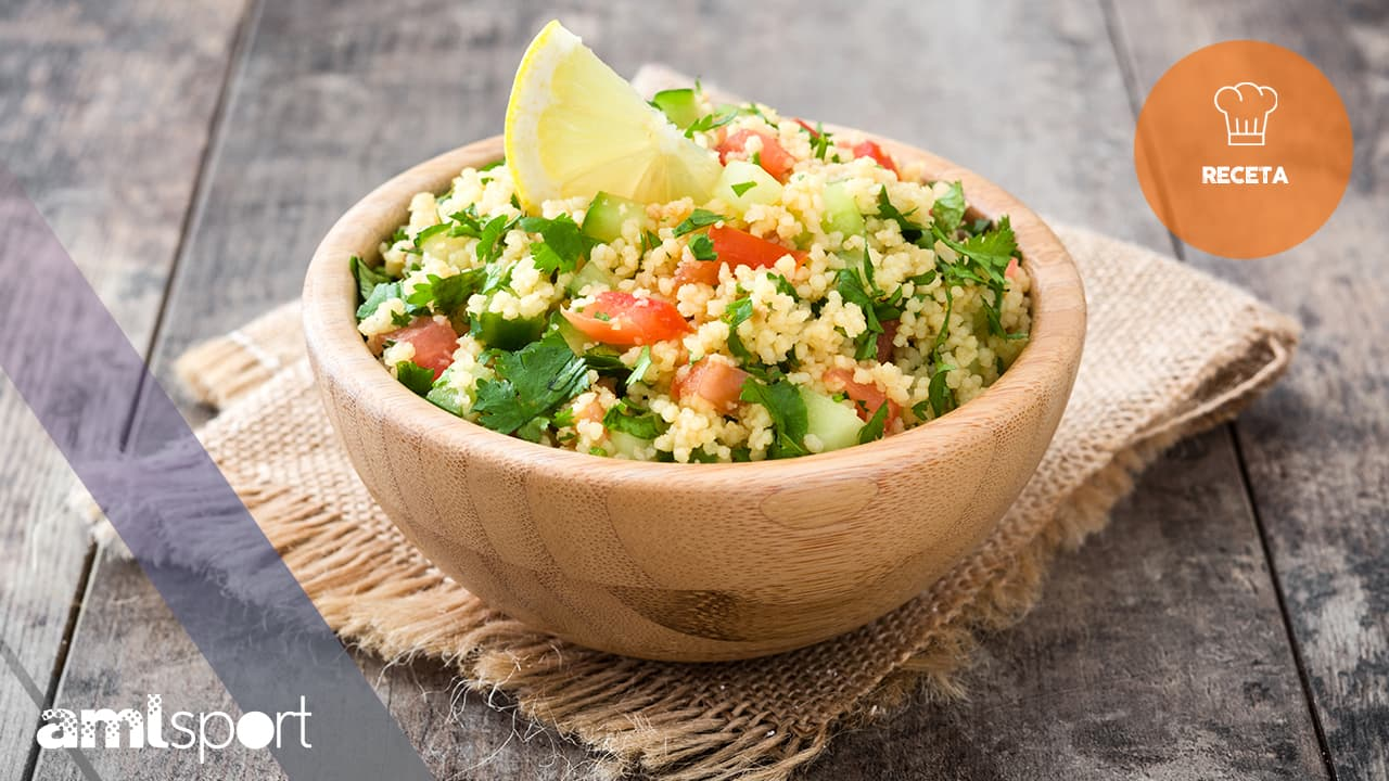 receta de ensalada de bulgur y coco